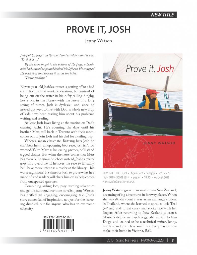 Prove It, Josh